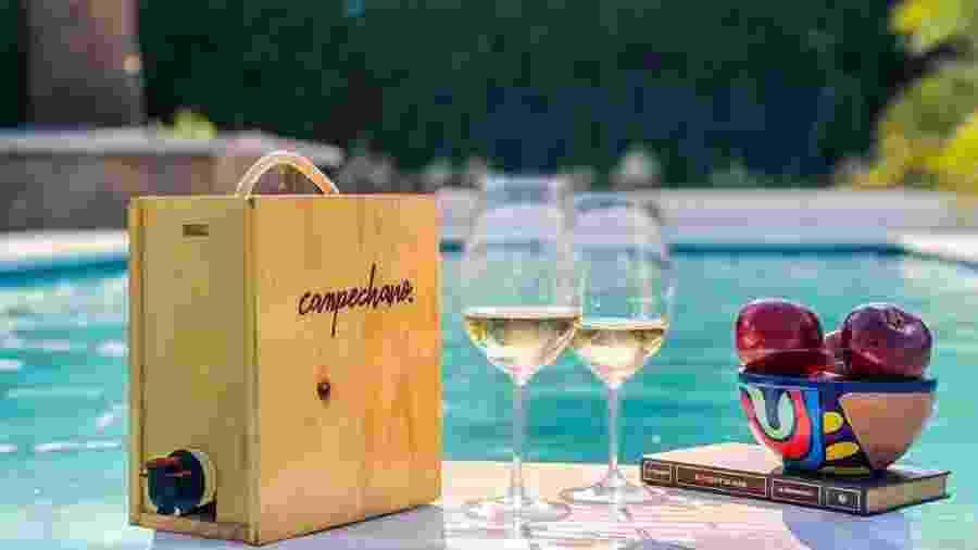 A empresa argentina Campechano é uma que aposta na tendência de vinho na caixa - Instagram/vinocampechano
