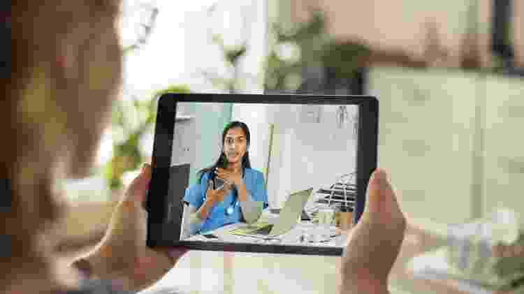 telemedicina, atendimento médico online - iStock - iStock