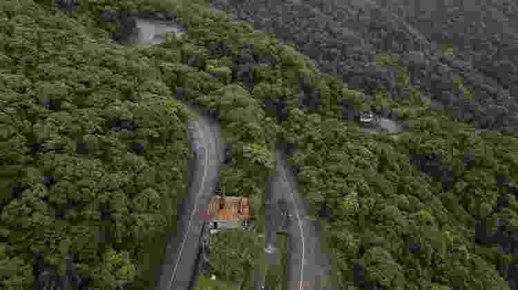 banguela descida de serra - Folhapress - Folhapress