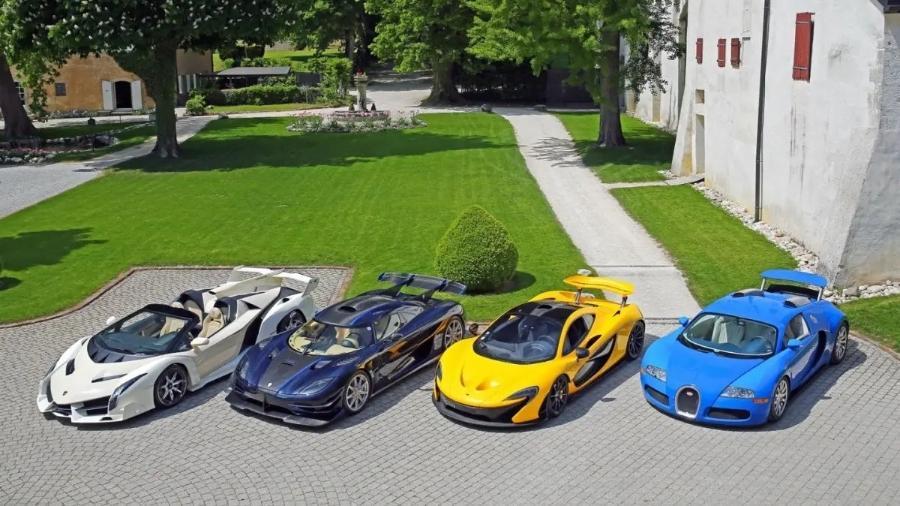 """Coleção de carros superesportivos - RM Sotheby""""s"""