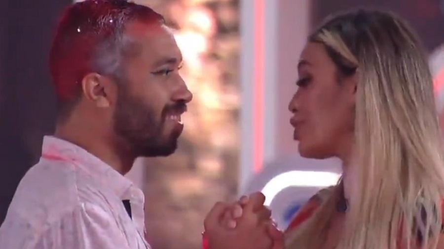 BBB 21: Sarah e Gilberto falam sobre ida para final do reality - Reprodução/Globoplay
