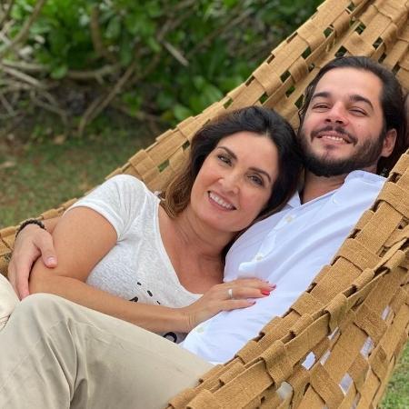 """A apresentadora Fátima Bernardes disse ao """"Conversa com Bial"""" que suas fotos com o namorado Túlio Gadêlha inspiram outras mulheres - Reprodução/Instagram"""