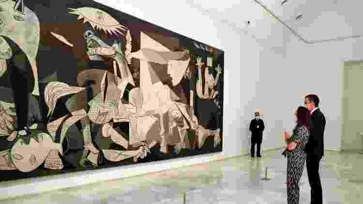 08.07.2020 - A 'Guernica' original, no Museo Nacional Centro de Arte Reina Sofía - Europa Press via Getty Images - Europa Press via Getty Images