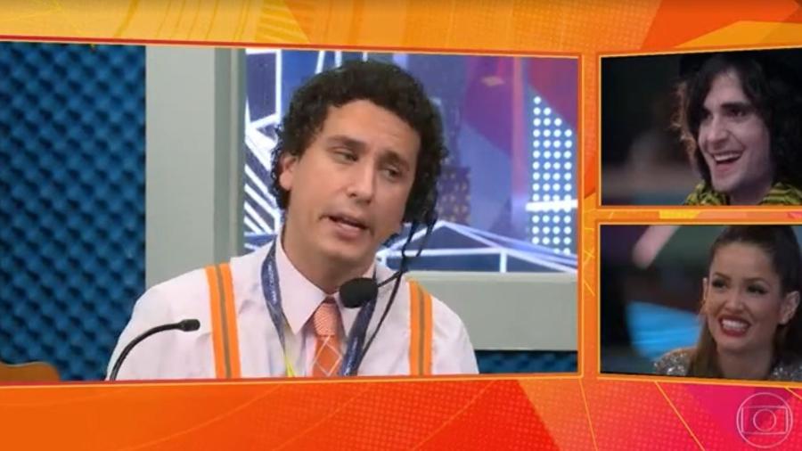 BBB 21: Rafael Portugal diverte na final do reality - Reprodução/ Globoplay