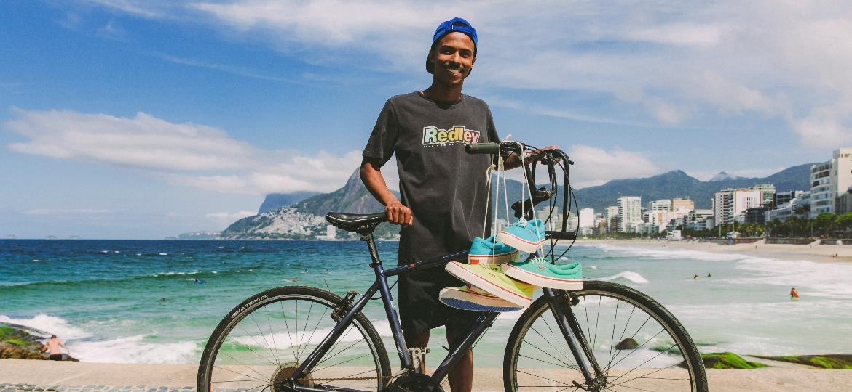 Redley comemora seus 35 anos de história resgatando peças que fazem parte da história da marca e dos jovens, entre os anos 80 e 90, no Rio de Janeiro - Divulgação