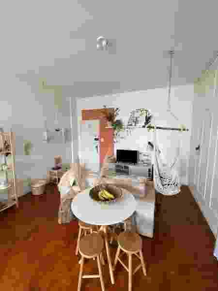 Apartamento trabalha com decoração clean - Arquivo Pessoal - Arquivo Pessoal