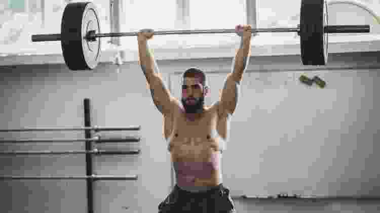 Levantamento de peso olímpico, LPO, treino, exercício - iStock - iStock