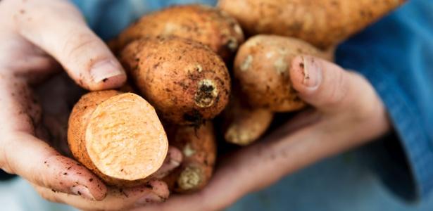 Batata-doce: a delícia junina caiu nas graças dos fitness, mas também serve para enfeitar - Getty Images