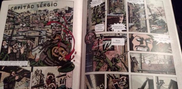 """A Globo usou quadrinhos para divulgar série de terror """"Supermax"""", que estreia em 2016 - Natalia Guaratto/UOL"""