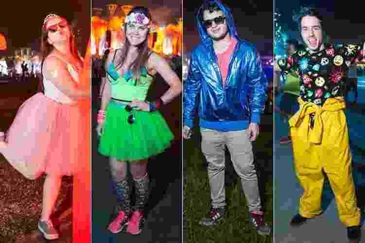 Moda da rua - Eletric Daisy Carnival - Gabriel Quintão/UOL