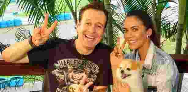 """Daniela Albuquerque recebe Celso Zucatelli no """"Sensacional"""", hoje na Rede TV!, para falar sobre motos e velocidade - Divulgação/Rede TV - Divulgação/Rede TV"""
