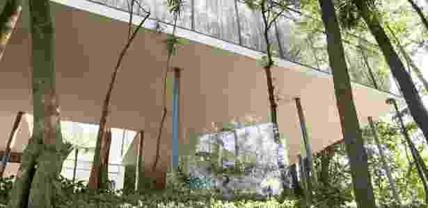 Instalação de José Bechara na Casa de Vidro - Everton Ballardin - Everton Ballardin