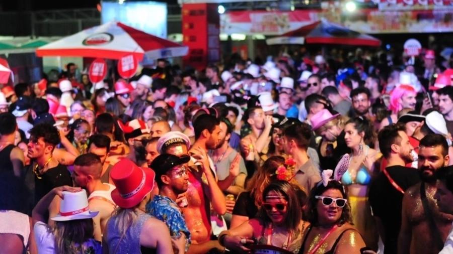 Acadêmicos do Baixo Augusta em festa no Carnaval deste ano - Junior Lago/UOL