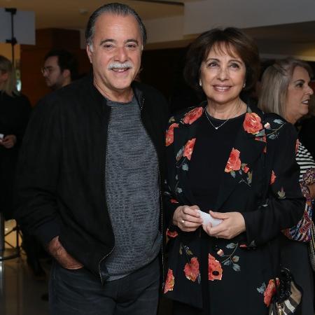 Tony Ramos e a mulher, Lidiane Barbosa - Roberto Filho/Brazil News