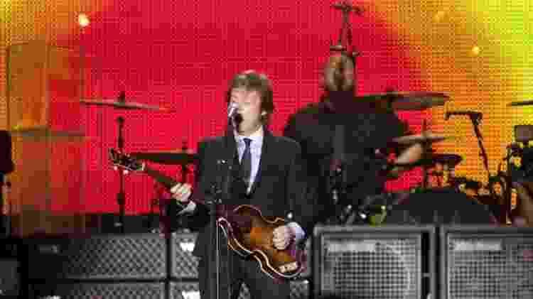 23.mai.2011 - Paul Mccartney em show no Rio, no estádio João Havelange - Rafael Andrade/Folhapress