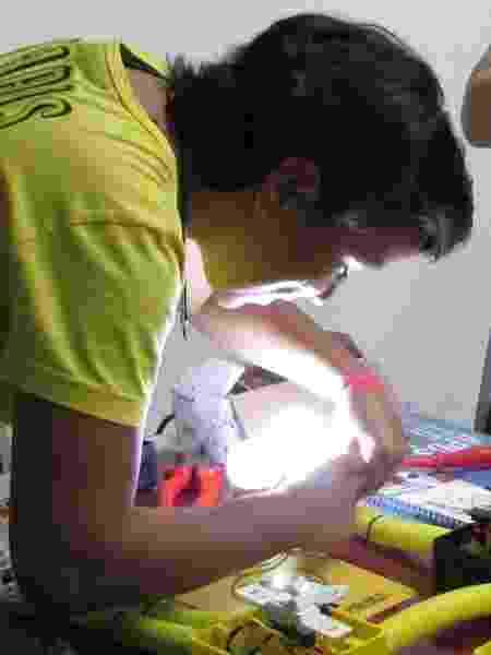 Thais ensina mulheres a fazer pequenos reparos elétricos em casa - Arquivo pessoal - Arquivo pessoal