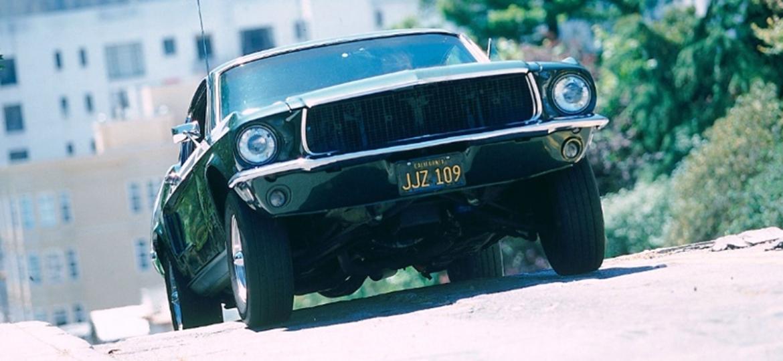 """Ford Mustang foi uma das verdadeiras estrelas do filme """"Bullitt"""", de 1968 - Reprodução"""