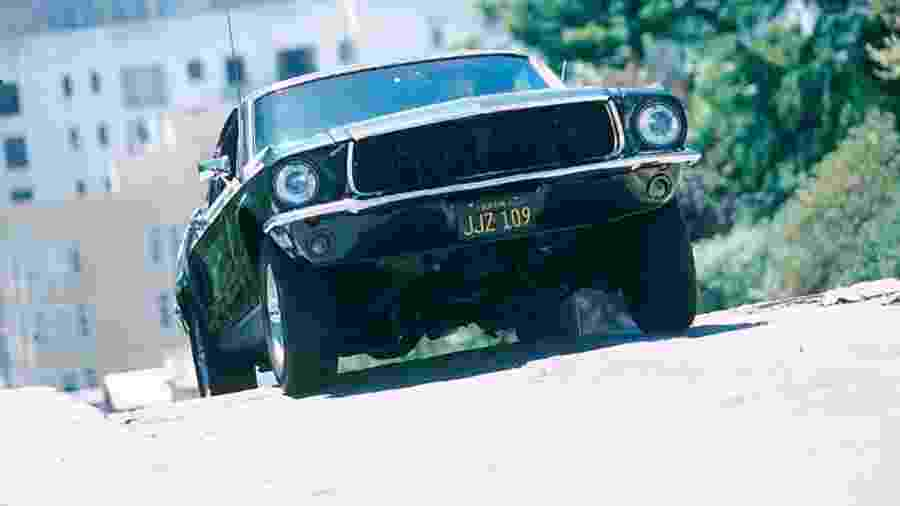 Ford Mustang Bullitt 1968 - Reprodução