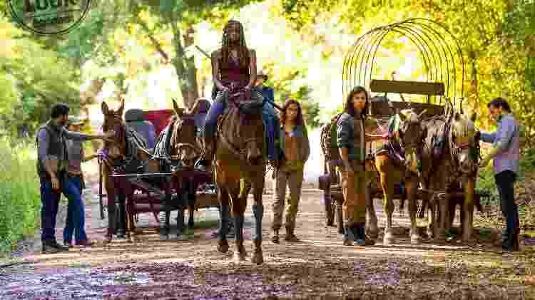 The Walking Dead cena da nona temporada - Reprodução - Reprodução