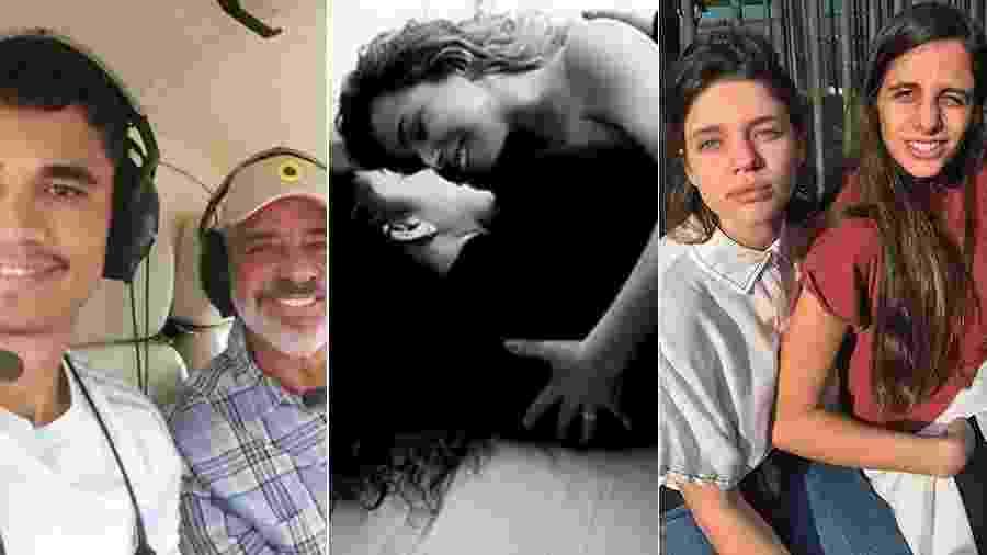 Lulu Santos, Daniela Mercury e Bruna Linzmeyer: eles enfrentaram o preconceito na era das redes sociais e tornaram públicas suas relações - Reprodução/Instagram