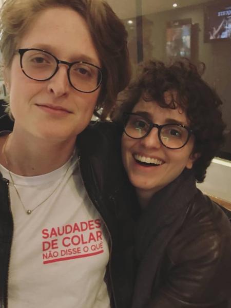 Carol Duarte passeia com a namorada, Aline Klein - Reprodução/Instagram/alinevastaklein