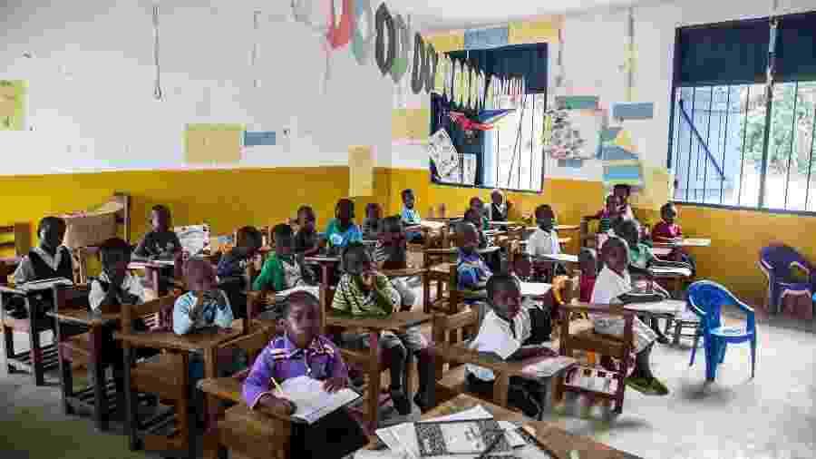 Escola da ONG More Than Me em Monróvia na Libéria - Divulgação/More Than Me