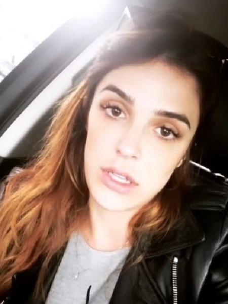 Rafa Brites compartilha relato de irmã no Instagram - Rafa Brites/Reprodução Instagram