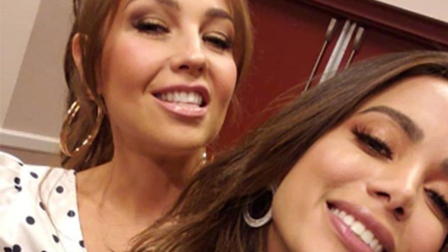 Anitta e Thalia se encontram em Las Vegas - Reprodução/Instagram