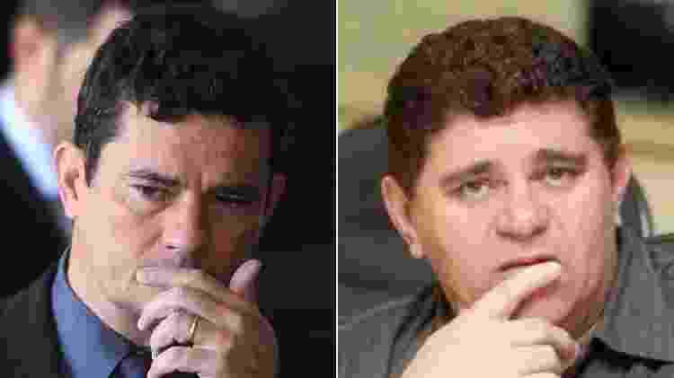 Sergio Moro e Batoré - Montagem/UOL/Ernesto Rodrigues/Estadão Conteúdo/Arquivo pessoal/Batoré - Montagem/UOL/Ernesto Rodrigues/Estadão Conteúdo/Arquivo pessoal/Batoré