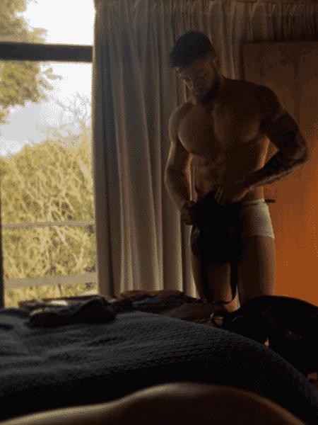 Rodrigo Godoy é flagrado de cueca por Preta Gil - Reprodução/Instagram