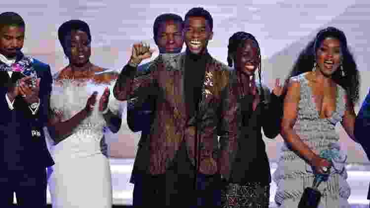 """""""Pantera Negra"""" vence o SAG Awards de melhor elenco - Frederic J. BROWN / AFP - Frederic J. BROWN / AFP"""