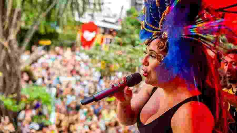 Em 2019, Maria Rita cantou no bloco Bangalafumenga, na região da Faria Lima, em São Paulo - Edson Lopes Jr./UOL