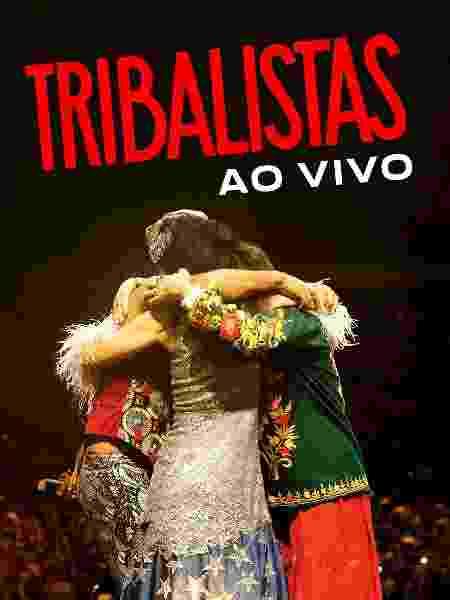 """Capa de """"Tribalistas - Ao Vivo"""" - Divulgação - Divulgação"""