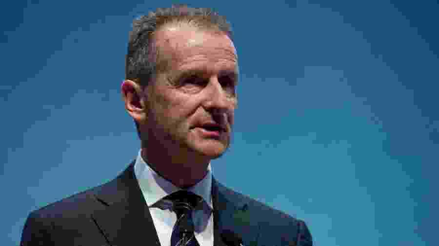 Herbert Diess, CEO do Grupo Volkswagen - Josep LAGO/AFP