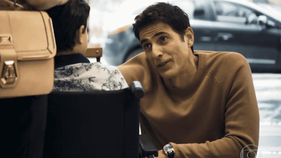 Régis (Reynaldo Gianecchini) em A Dona do Pedaço - Reprodução/TV Globo