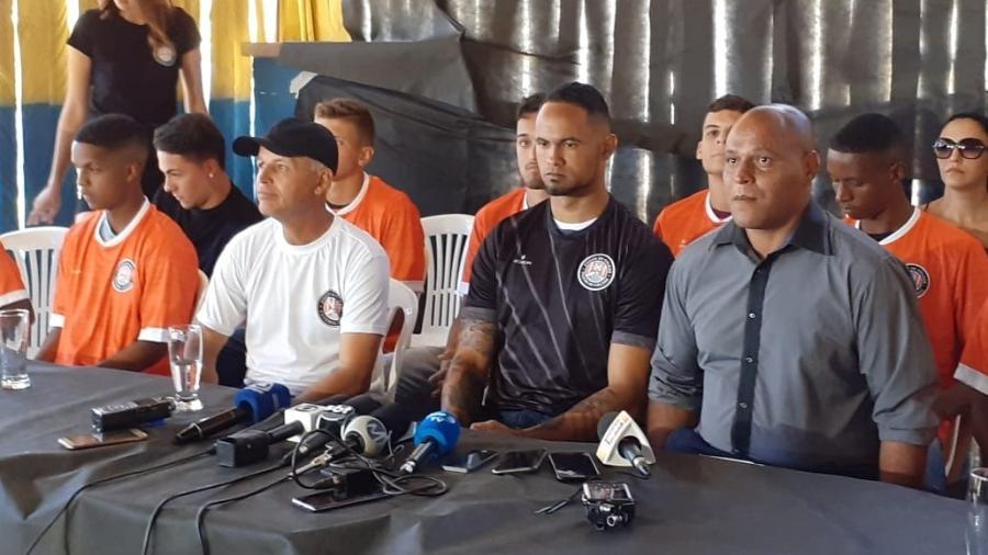 Jogador foi condenado em 2013 a 20 anos e 9 meses de prisão, que cumpre em regime semiaberto atualmente - Franco Júnior