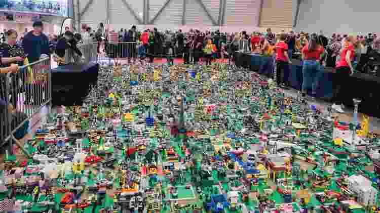 Cidade feita com tijolinhos de Lego: empresa quase faliu nos anos 2000 - Alessandro Rampazzo/AFP