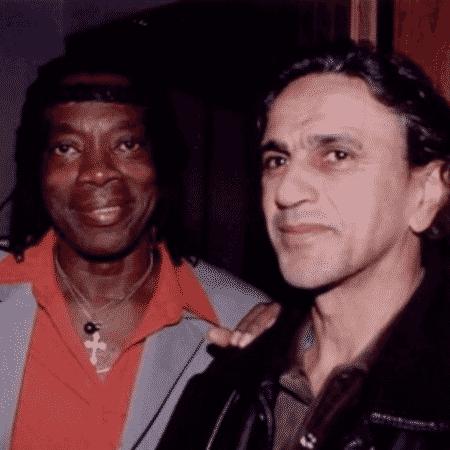 Milton Nascimento e Caetano Veloso - Reprodução/Instagram