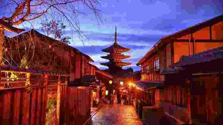 Bairro de Gion, em Kyoto, no Japão - iStock - iStock
