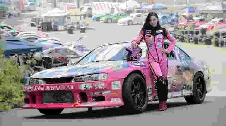 Dia ruim no kart fez Nanami partir para o drift - e ela nunca mais abandonou o esporte - Divulgação