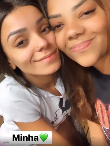 Brunna Gonçalves e Ludmilla - REPRODUÇÃO/INSTAGRAM