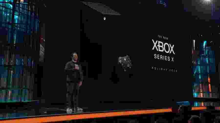 Phil Spencer durante o anúncio do Xbox Series X - Reprodução