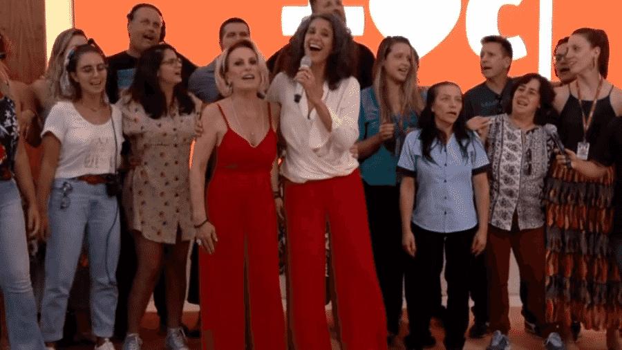 Simone foi a convidada do Mais Você da véspera de Natal - Reprodução/TV Globo