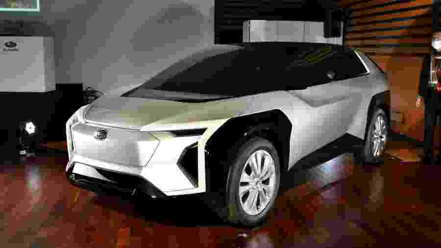 SUV elétrico da Subaru feito em parceria com a Toyota - Divulgação