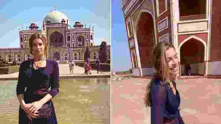 Grazi Massafera visita Túmulo de Humayun na Índia - Reprodução/Instagram @massafera