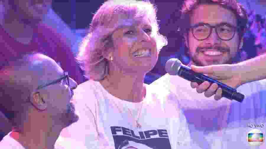 BBB 20: Thiago conversa com a mãe de Prior - Reprodução/TV Globo