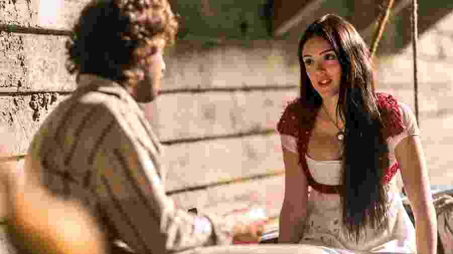 Joaquim ( Chay Suede ) e Anna ( Isabelle Drummond ) - Globo/Paulo Belote