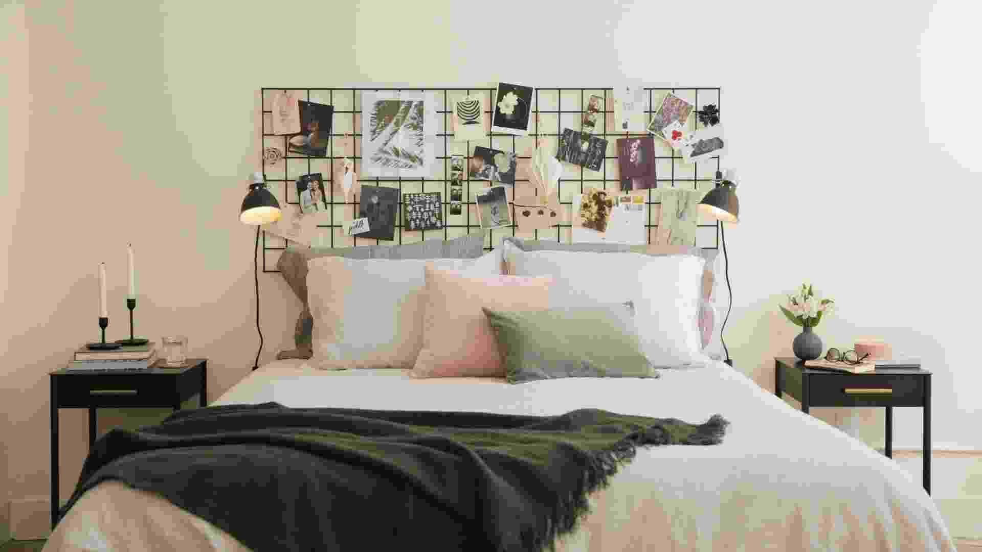 10 inspirações para explorar a criatividade e destacar a cabeceira da cama - Reprodução/Pinterest
