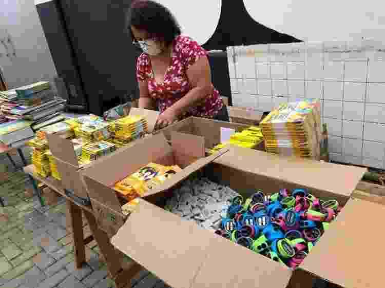 Distribuição de cestas básicas - Divulgação - Divulgação