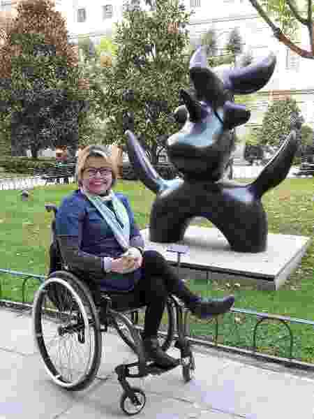 laura - madri - deficientes - Arquivo pessoal - Arquivo pessoal